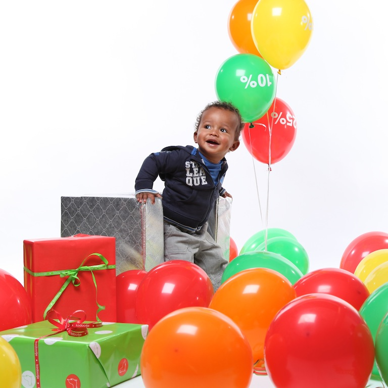 Baby-Dump ballonnen